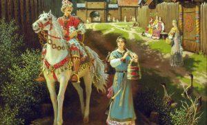 Алеша Попович — один из богатырей земли русской.