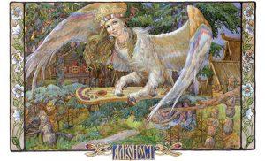 Алконост  — светлая птица Ирия