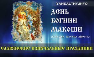 Сегодня 13.11.2018 День Богини Макоши