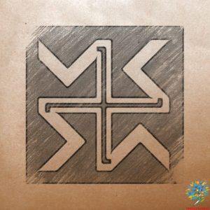 Славяно-арийский символ Дхата - Значение древнего оберега
