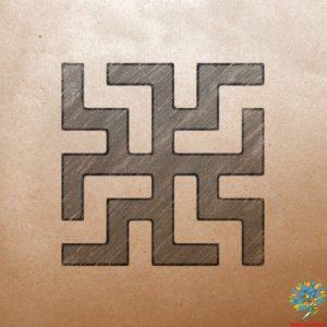 Славяно-арийский символ Зайчик - Значение древнего оберега