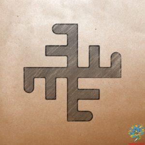 Славяно-арийский символ Небесный крес - Значение древнего оберега