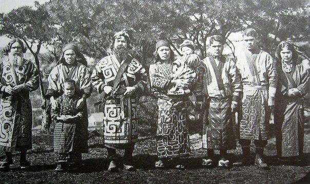 Айны - народ, древнейшее население Японских островов.
