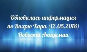 Обновилась информация по Вихрю Хара (12.05.2018)