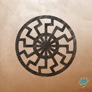 Славяно-арийский символ Чёрное солнце - Значение древнего оберега