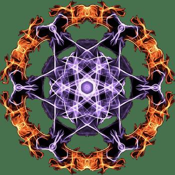 Очистительное значение огня, прогоняющего темную, демоническую энергию