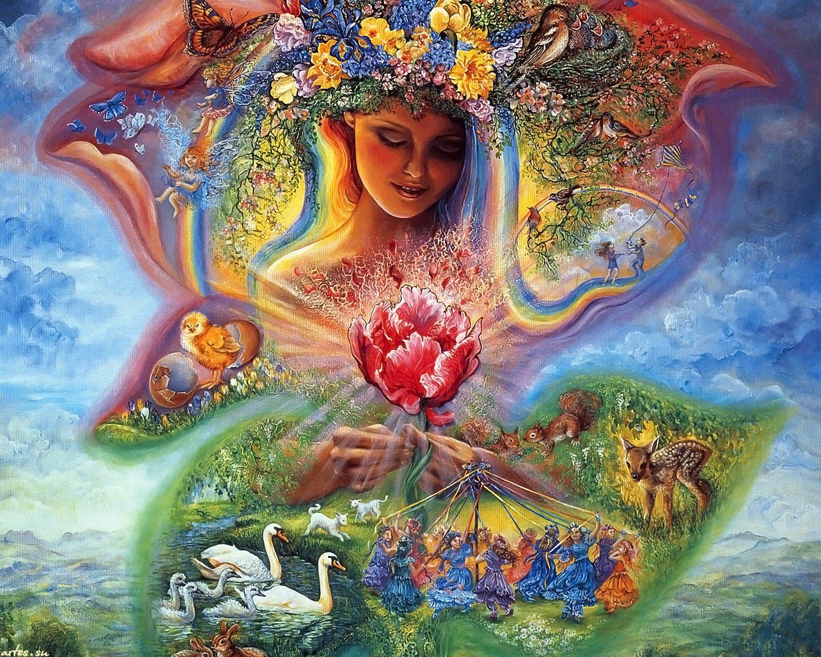 ДЕНЬ БОГИНИ ЖИВА, ПО ТРАДИЦИИ «ЖИВИН ДЕНЬ», 1 МАЯ