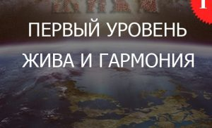 1.1«Жива и Гармония — Уровень 1»