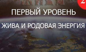 2.1«Жива и ДУХовный Огонь РОДовой Энергии — Уровень 1»