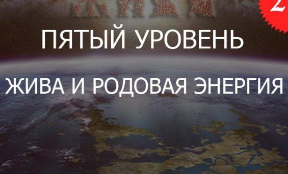 2.5«Жива и ДУХовный Огонь РОДовой Энергии — Уровень 5»