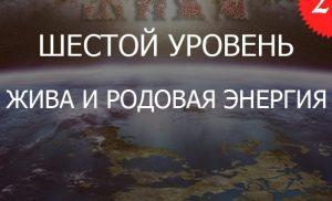 2.6«Жива и ДУХовный Огонь РОДовой Энергии — Уровень 6»