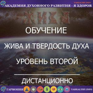 Жива и Твердость ДУХа Уровень 2»