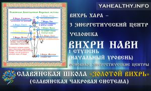 Вихрь Хара – 3 энергетический центр человека | Вихри Нави | Золотой Вихрь