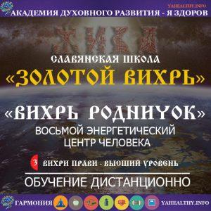 Вихрь Родничок №8 (восьмой энергетический центр)