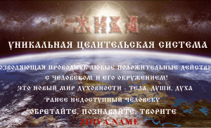История системы Жива. Духовная практика жива